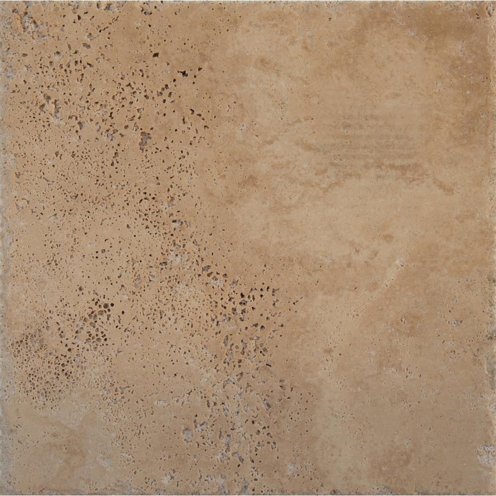 MSI Ivory Onyx Pattern Honed-Unfilled-Chipped Travertine Floor and Wall Tile (5 kits / 80 sq. ft. / pallet)