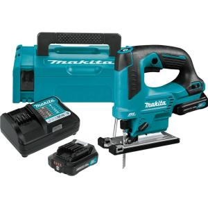 Makita 12-Volt Max CXT Lithium-Ion Brushless Cordless Top Handle Jig Saw Kit (2.0Ah) by Makita