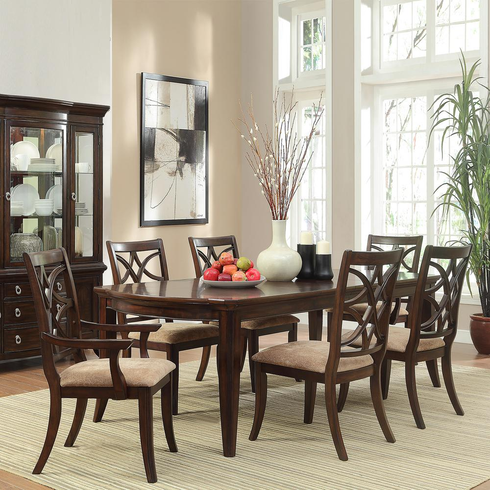 Traditional Dining Room Sets Cherry. Steve Silver Harmony 7piece ...