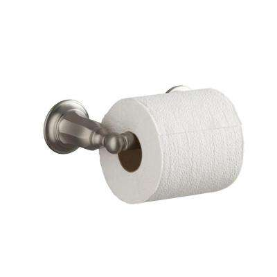 Kelston Double Post Toilet Paper Holder in Vibrant Brushed Nickel