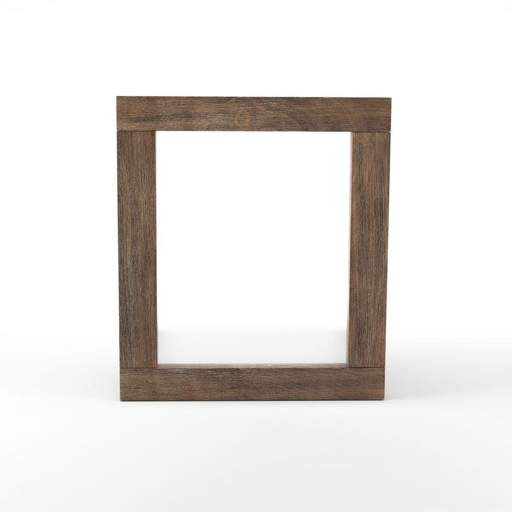 Jose 37 in. H x 42 in. W Rectangular Wood Framed Wall Mirror