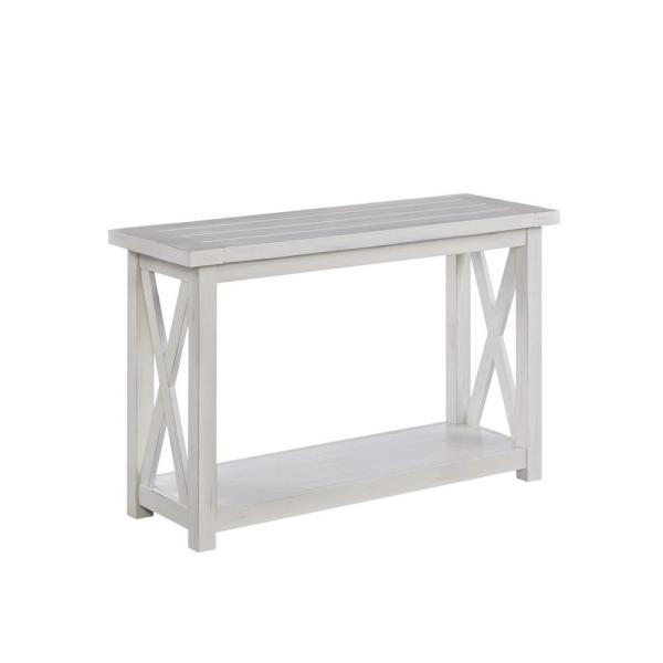 Hand Rubbed White Console Table 5523 22