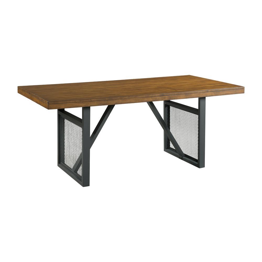 Beckett Light Brown Dining Table