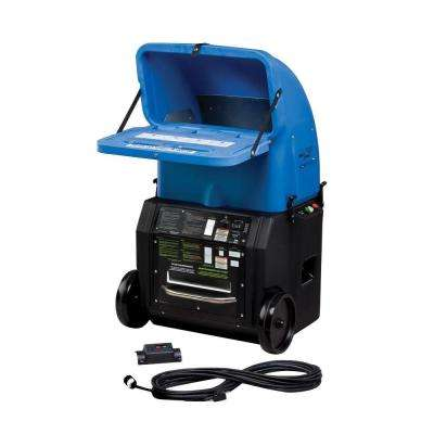 FiberForce - Wireless Fiberglass/Cellulose Insulation Blower with Standard Removable Hopper