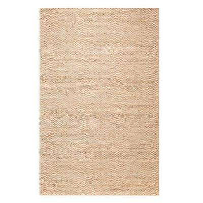 Zigzag Natural 2 ft. x 3 ft. 5 in. Area Rug