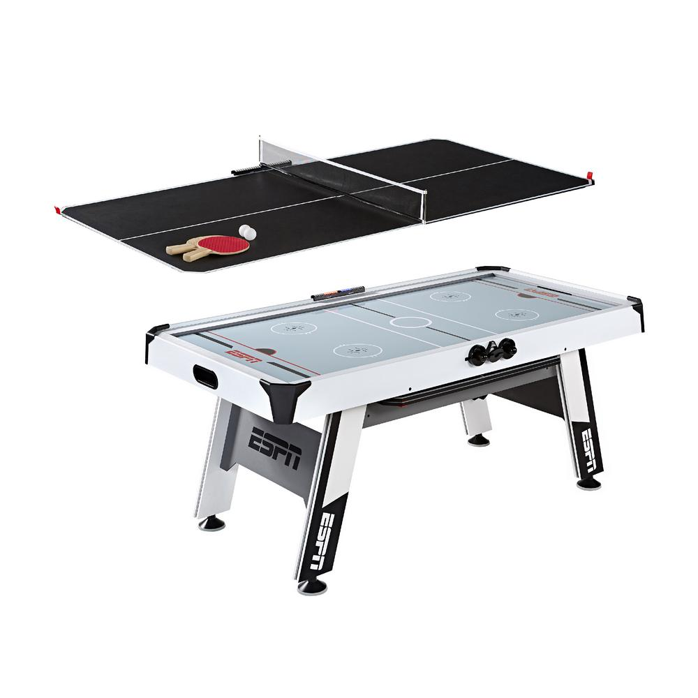 Espn 72 In Air Hockey And Table Tennis Table Awh072 018e The Home Depot