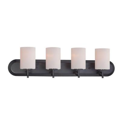 Cassina 4-Light Biscayne Bronze Bath Bar Light