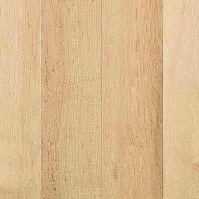 Take Home Sample - Portland Pure Maple Natural Solid Hardwood Flooring - 5 in. x 7 in.