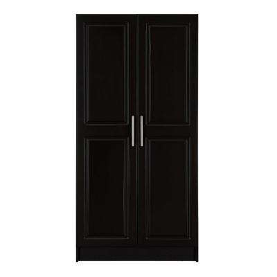 Select 65 in. H Wardrobe Cabinet in Espresso