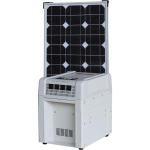 KISAE Home Solar Kit - 1800-Watt Inverter, 60Ah Battery, 8 Amp Charge Controller, 80-Watt Solar Panel by KISAE