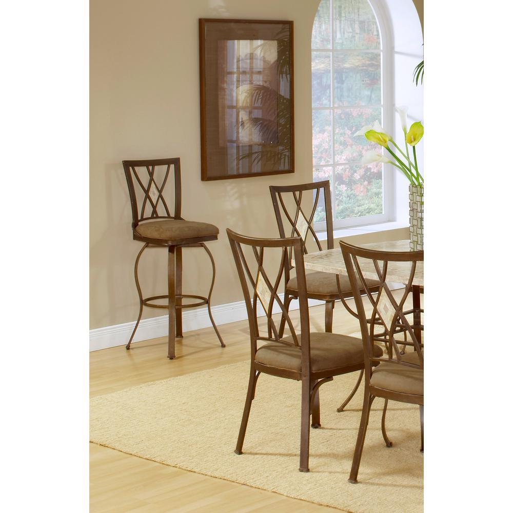 Excellent American Heritage Bella 26 In Pepper Cushioned Bar Stool Inzonedesignstudio Interior Chair Design Inzonedesignstudiocom