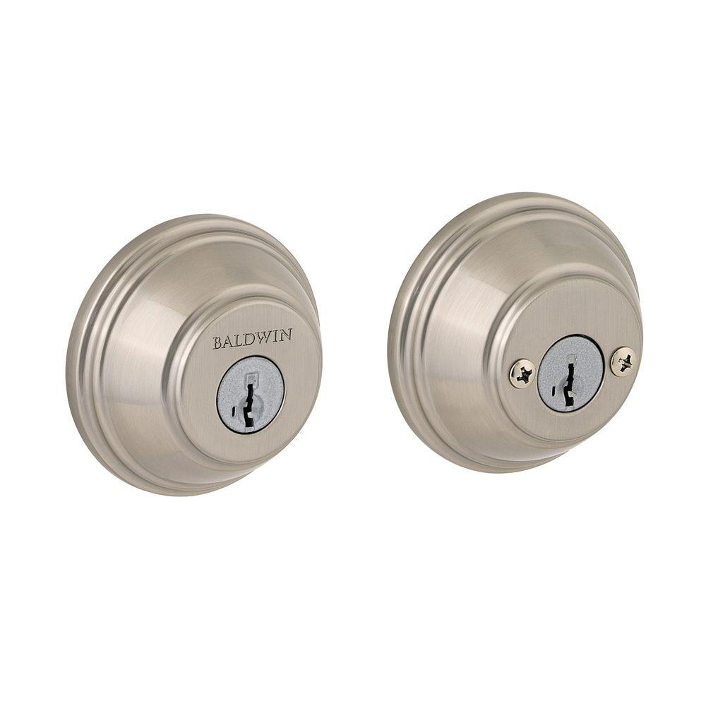Prestige Double Cylinder Satin Nickel Deadbolt