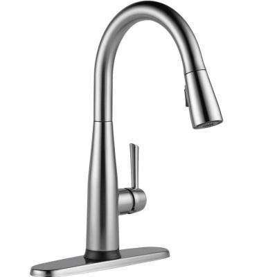essa touch2o technology pulldown sprayer kitchen faucet with magnatite docking in