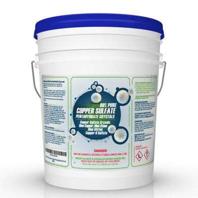 10 lbs. 99% Pure Copper Sulfate Pentahydrate Crystals Pail