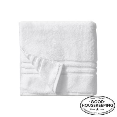 Turkish Cotton Ultra Soft Bath Towel in White