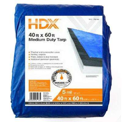 40 ft. x 60 ft. General-Purpose Blue Tarp