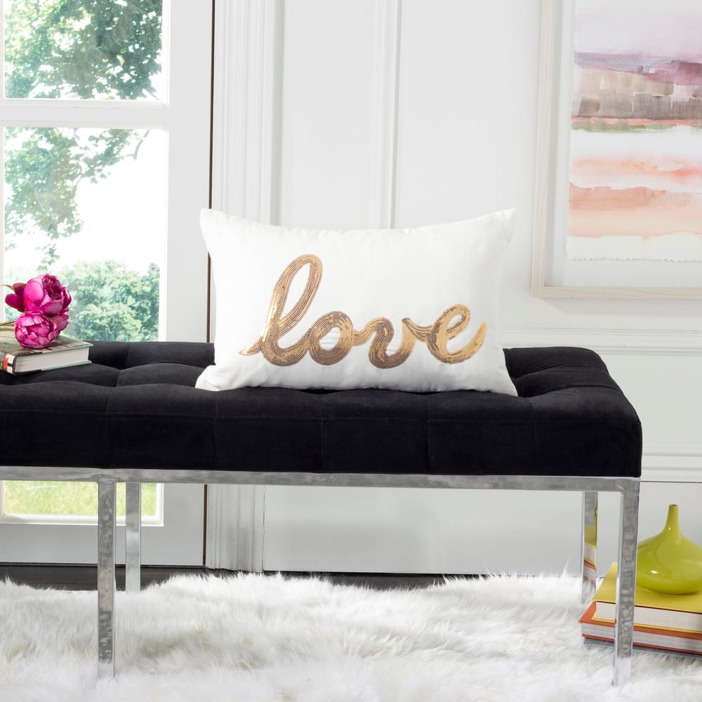 First Comes Love Standard Pillow