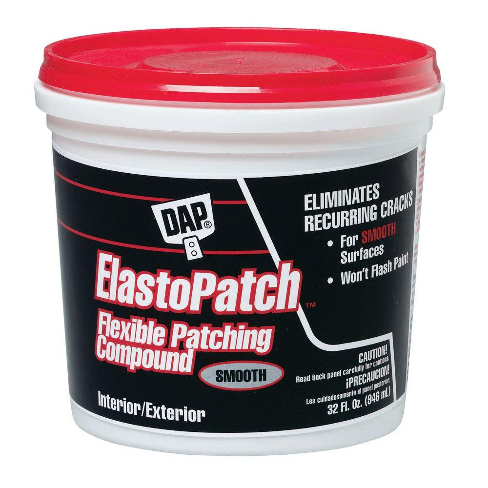 ElastoPatch 32 oz. White Flexible Patching Compound (6-Pack)