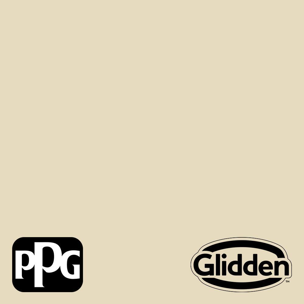Glidden Premium 1 Qt Ppg1104 3 Deserted Beach Satin Exterior Latex Paint Ppg1104 3px 4sa The Home Depot