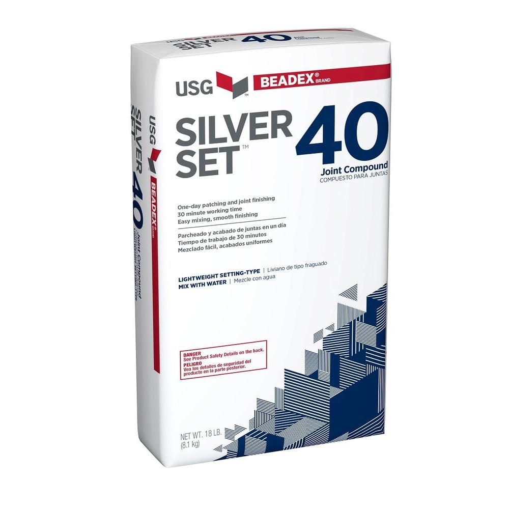 18 lb. Silver Set 40 Setting-Type Joint Compound