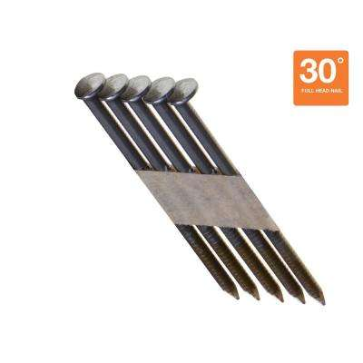 2-3/8 in. x 0.113 in. 30° Bright Ring Shank Nails (4,000 per Pack)