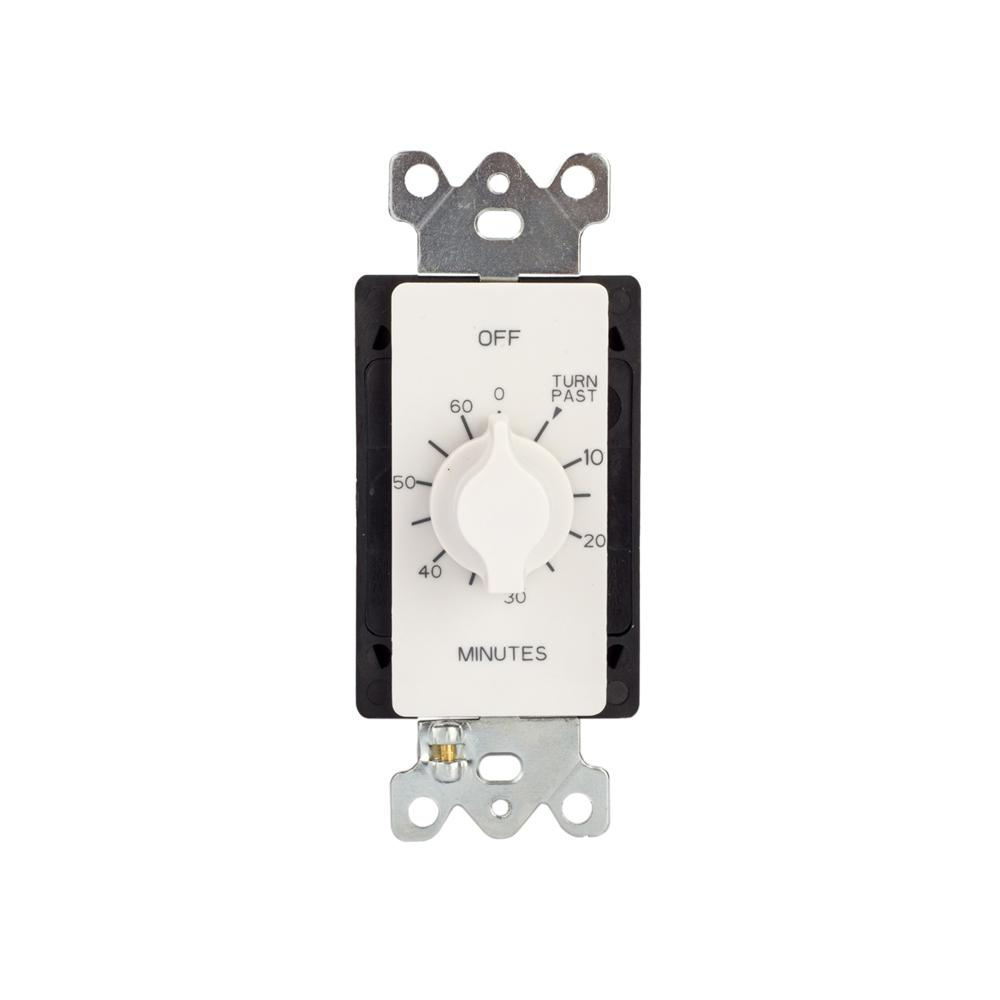 tork 60-minute spring wound timer with wall plate