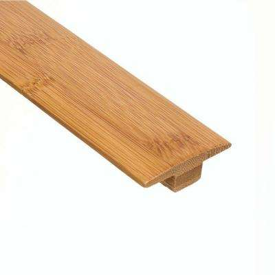 Horizontal Toast 3/8 in. Thick x 2 in. Wide x 78 in. Length Bamboo T-Molding