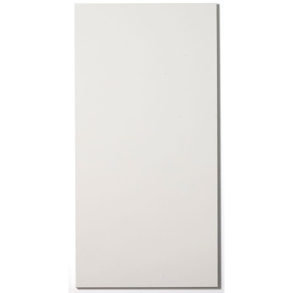 Paintable White Fabric Rectangle 24 in. x 48 in. Sound Absorbing