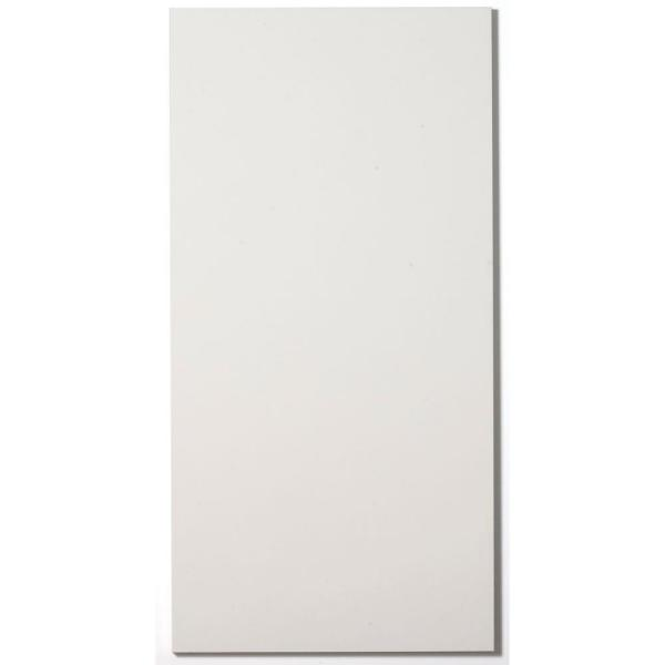 Paintable White Fabric Rectangle 24 in. x 48 in. Sound Absorbing Acoustic Panels (2-Pack)