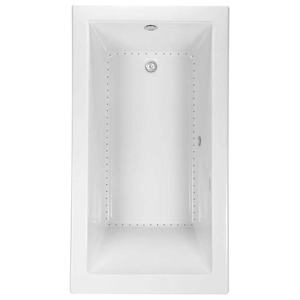Aquatic Serenity 36 - 5 ft. Reversible Drain Acrylic DriftBath Bathtub in White