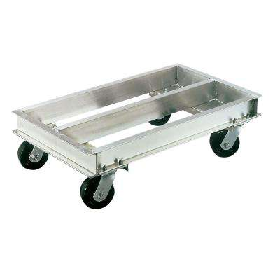 2,000 lb. Capacity 21 in. x 36 in. Caster Dolly with 5 in. Phenolic Swivel Casters