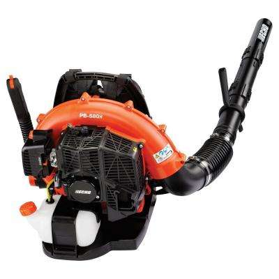 215 MPH 510 CFM 58.2cc Gas Backpack Leaf Blower with Hip Throttle