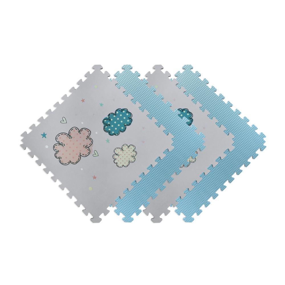 Norsk Reversible Clouds/Blue Children's Designer 24 In. X