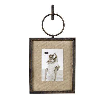 Cast Iron 4 in. x 6 in. Vertical Loop Frame