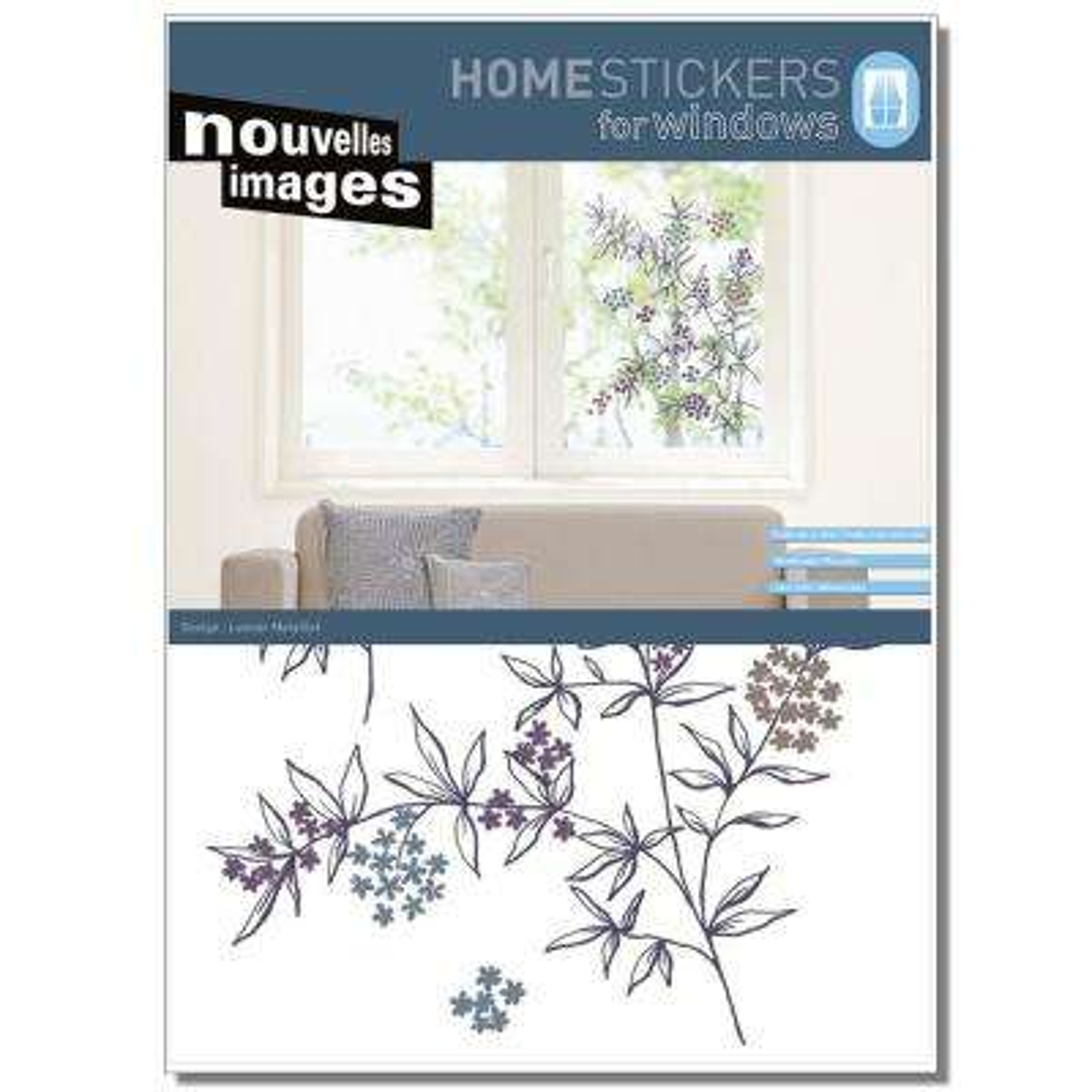 Multicolor XL- Branch of Elderberries Home Sticker