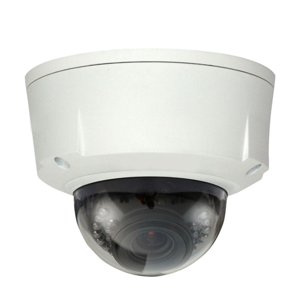 SeqCam Wired 1.3 Megapixel Waterproof and Vandal-Proof IR Network Dome Indoor or Outdoor Standard Surveillance Camera