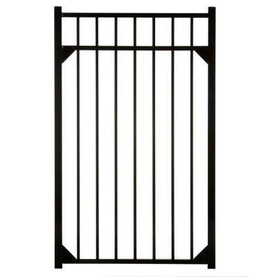 Meriden 47 in. x 54 in. Single Walk Aluminum Gate