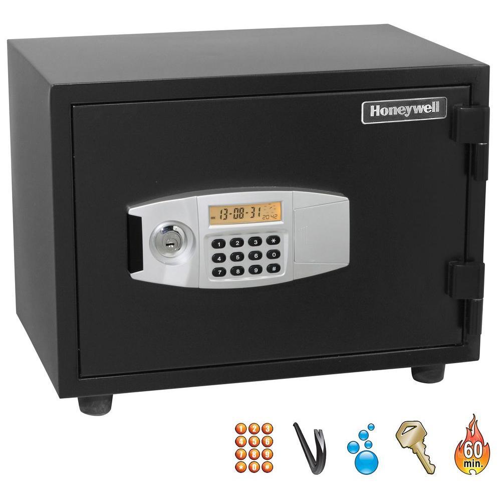 Honeywell 0.63 cu. ft. Fire Safe with Programmable Digita...