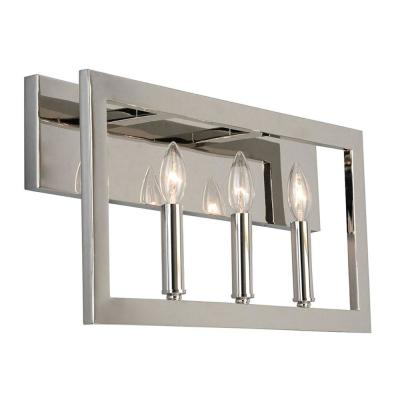 Jordan .75 in. 3-Light Satin Nickel Vanity Light