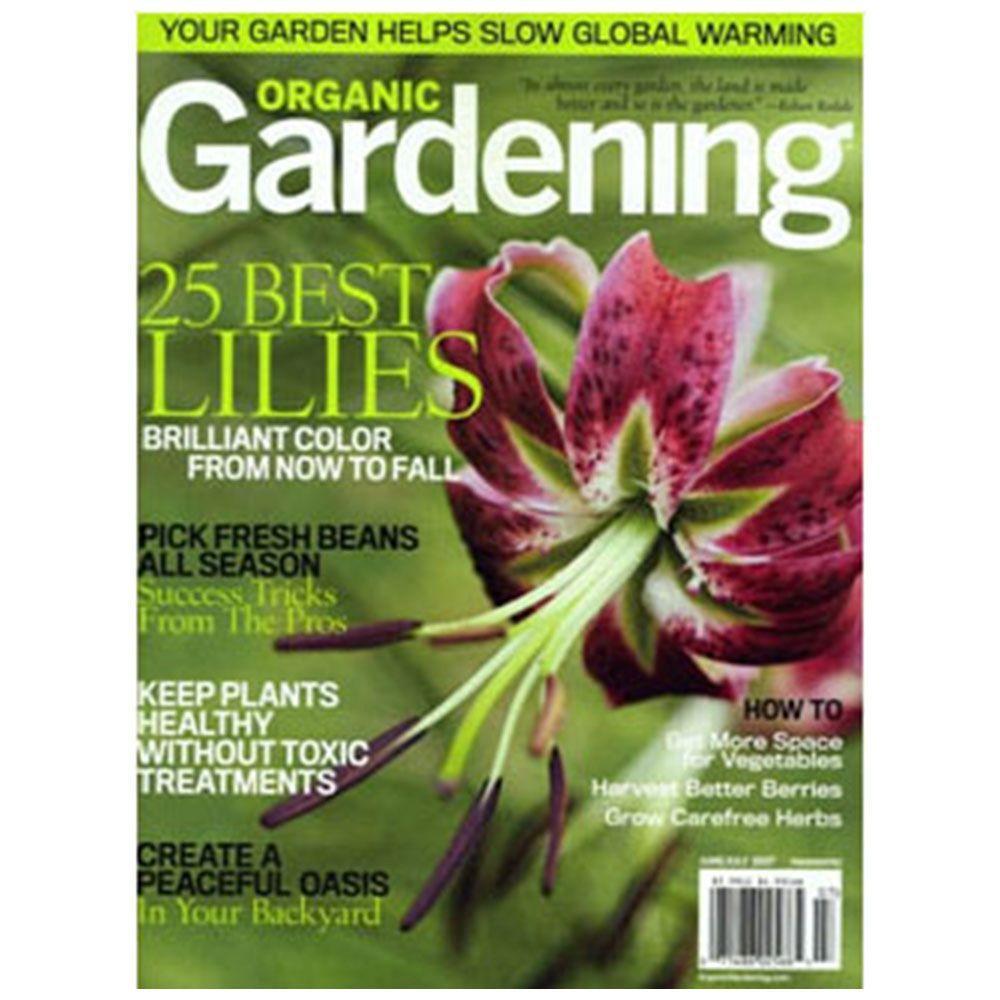Organic Gardening Magazine 02566 The Home Depot