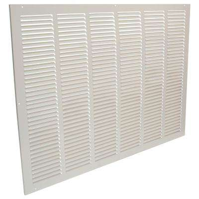 30 in. x 20 in. Steel Return Air Grille