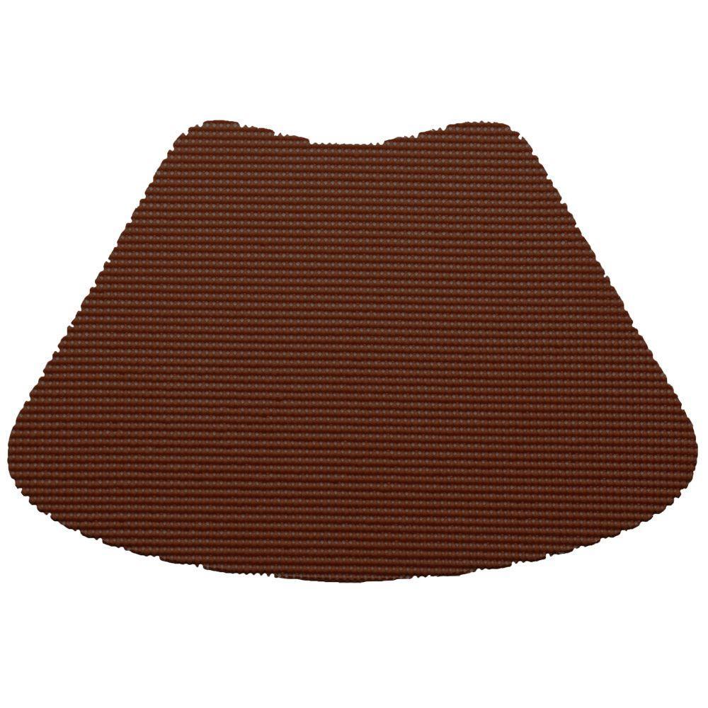 Kraftware Fishnet Wedge Placemat in Chocolate (Set of 12) by Kraftware