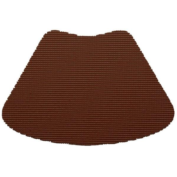 Fishnet Wedge Placemat in Chocolate (Set of 12)