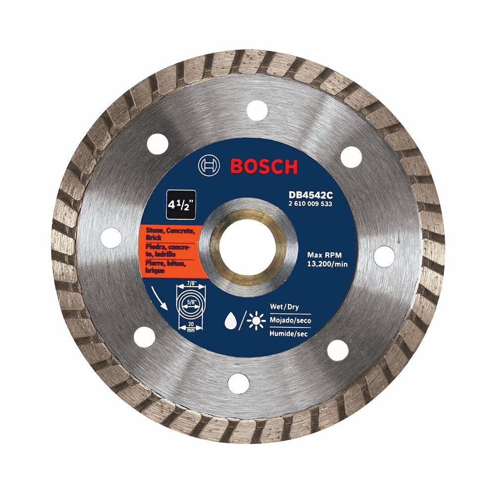 Bosch 9 In Premium Plus Turbo Diamond Angle Grinder