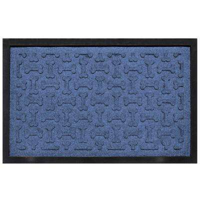 Navy 18 in. x 27 in. Dog Treats Boot Tray