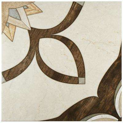 Argos Natural 17-3/4 in. x 17-3/4 in. Ceramic Floor and Wall Tile (21.85 sq. ft. / case)