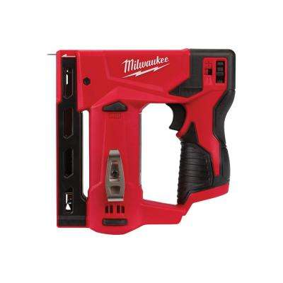 M12 12-Volt Lithium-Ion Cordless 3/8 in. Crown Stapler (Tool-Only)