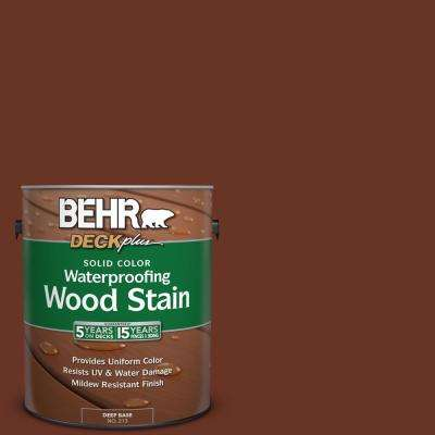 1 gal. #SC-118 Terra Cotta Solid Color Waterproofing Exterior Wood Stain