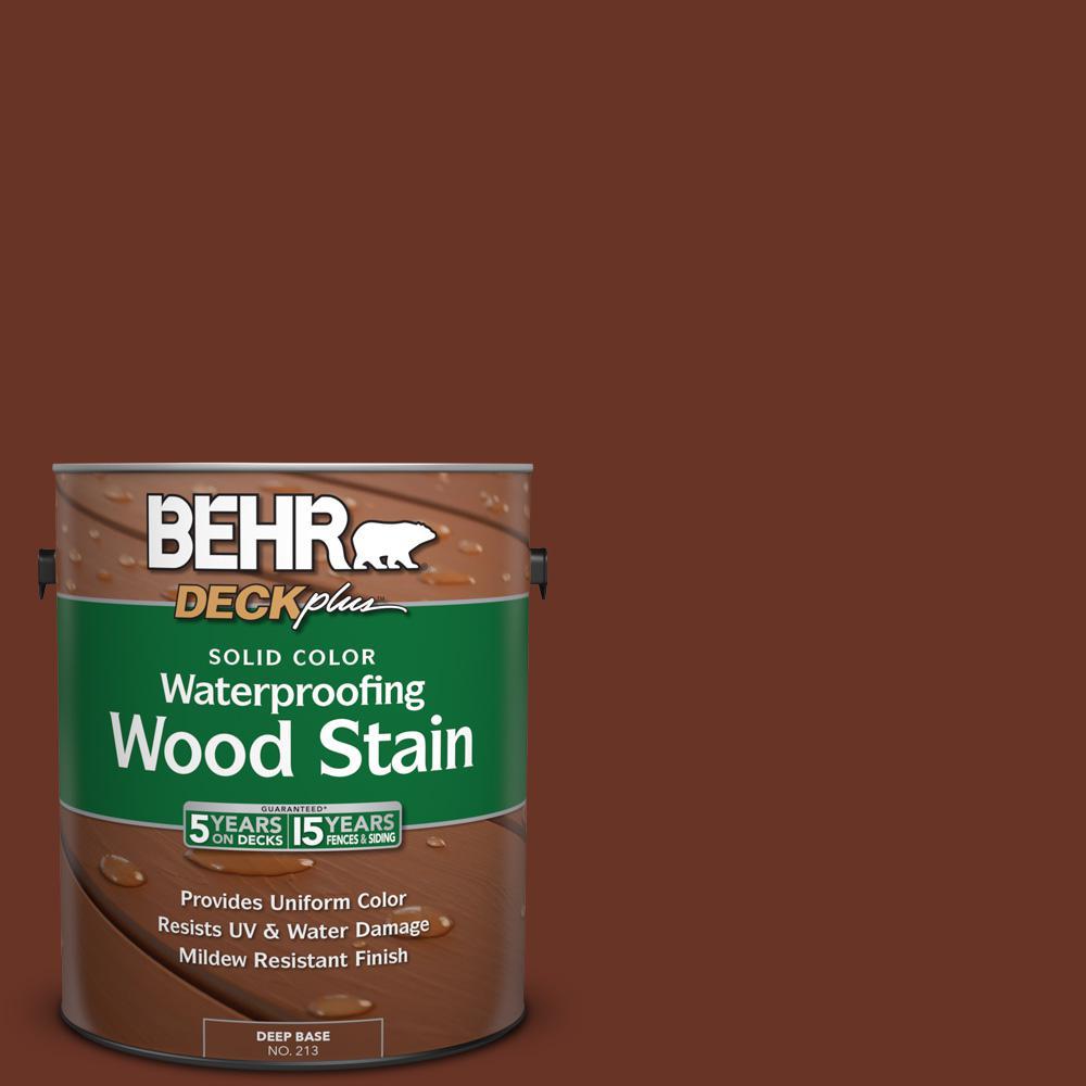 1 gal. #SC-118 Terra Cotta Solid Color Waterproofing Wood Stain