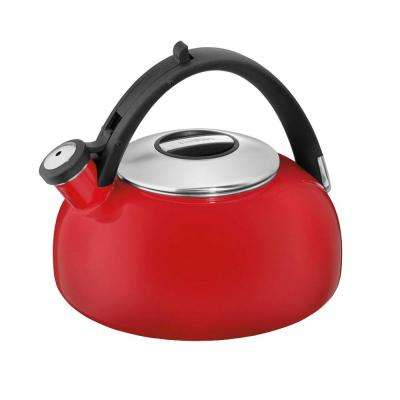Aura 8-Cup Red Tea Kettle